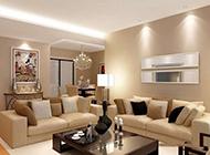 欧式别墅客厅吊顶装修设计大气奢华