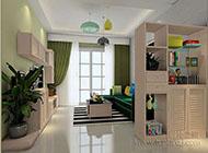 小户型美观且实用客厅隔断柜图片