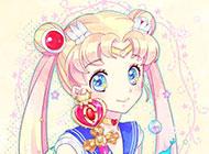日本美少女唯美动漫背景素材