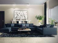 20款现代客厅明亮大格局装饰效果图
