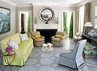 欧式客厅装修设计图奢华精美