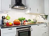 小户型白色现代简约厨房设计效果图