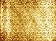 土豪金色纯色花纹背景图