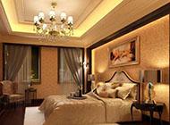 别墅欧式卧室装修效果图片