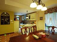小户型厨房餐厅一体化装修设计效果图