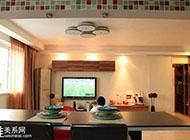 现代简约舒适二居室婚房室内装修效果图