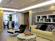 室内客厅装修背景墙简约风格效果图