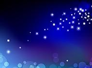 星星的唯美梦幻空间背景图
