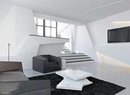 现代极简公寓装修效果图个性创意