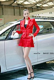 国内顶级车模美女车展秀