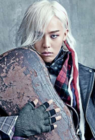 BIGBANG成员权志龙另类时尚帅气图片