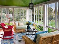 温馨浪漫的阳台花园效果图展示