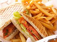 美味可口的三明治高清桌面壁纸