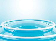 海报蓝色背景图片素材科技