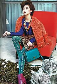 女星宋茜变身时尚成熟贵妇人组图