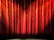 非主流大图片幕布舞台背景