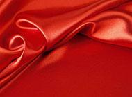 红色高档丝绸背景素材高清图