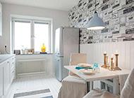 清新舒适纯白单身公寓装修设计