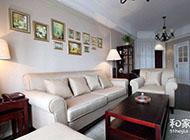 温馨素雅的三居室花园装修图片