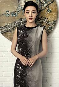 邓家佳演绎中国古典美人写真照