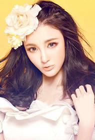 出位女演员刘雨欣唯美梦幻写真