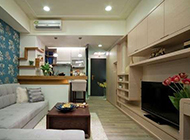 精品小户型公寓设计风格柔美精致
