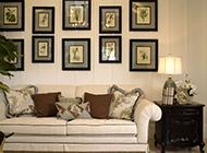 美式田园客厅装修效果图清新简洁