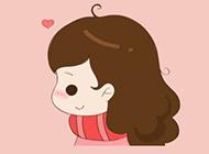 小女孩漫画图片俏皮可爱