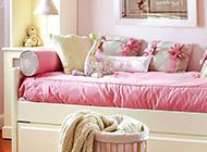 12平女儿童房粉嫩风格装修效果图实例