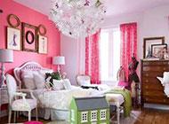 小户型简约小清新粉色系女生卧室装修图