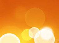 qq聊天背景图片唯美橙色光晕