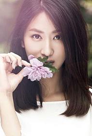 中国女明星郭珍霓小清新写真图片