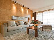 现代简约客厅装修效果图打造温馨氛围