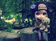 萌萌哒芭比娃娃图片 化身丛林俏皮精灵