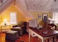 家庭阁楼英伦装修图片温馨舒适