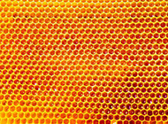 金色蜂巢蜜糖花纹背景图片