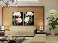 客厅背景墙壁画设计图美感创意