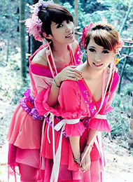 汉代两女唯美cos图片 令人着迷