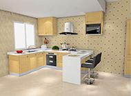 欧式厨房现代整体时尚装修效果图