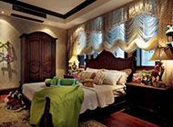 时尚豪华的地中海风格卧室装修图片
