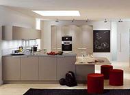 小复式厨房现代装修效果图时尚精致