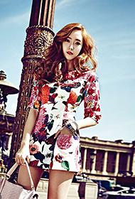 韩国女明星郑秀妍时尚写真照片