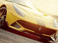 SPIA中东版法拉利F12炫黄车型展示