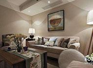 美式和现代混搭家庭玄关装修效果图