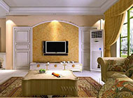 时尚流行的客厅卧室隐形门装修效果图