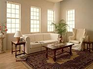 东南亚客厅装修效果图简洁美观