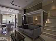 创意楼梯点亮整个公寓装修效果图