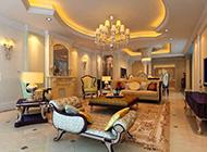 别墅欧式风格客厅装修效果图欣赏