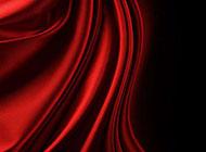 婚庆红色质感背景布幔装饰图片