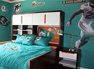 唯美运动男生卧室精美装修效果图